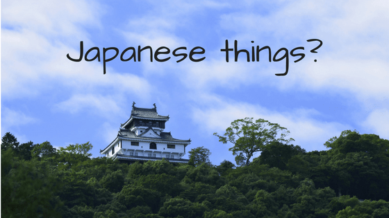 Japanese castle as the featured image